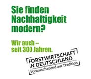 Kampagne 300 Jahre Nachhaltigkeit des DFWR