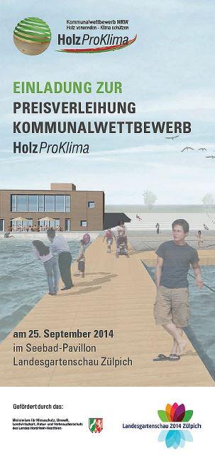 Flyer Preisverleihung 2014