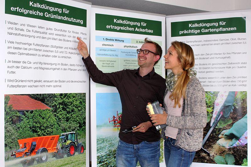 Ausstellung Kollaxo Garten Landwirtschaft Kalk