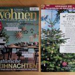 PEFC verlost Weihnachtsbäume mit der Zeitschrift Zuhause wohnen